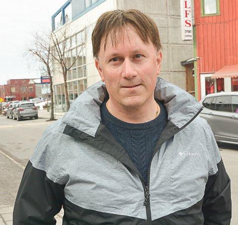 NY NÆRINGSSJEF: Martin Kaggestad startet i jobben 1. august.