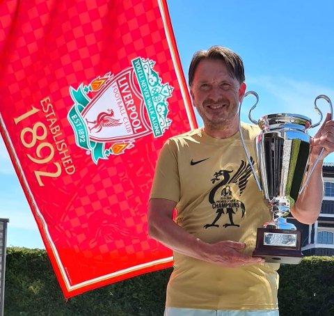 Superfan. Pål Pettersen ble tidligere i år kåret til årets Liverpool-supporter i Norge.
