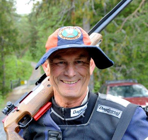 VIDERE I CUPEN: Arne Mathisen og Jondalen er videre i veterancupen i skyting.