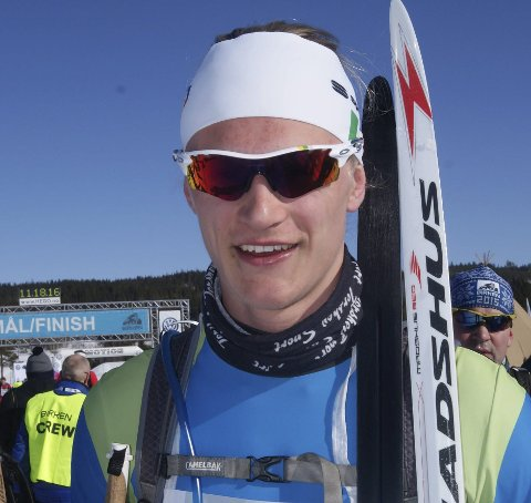 Verdenscup: Mathias Aas Rolid.Arkivbilde