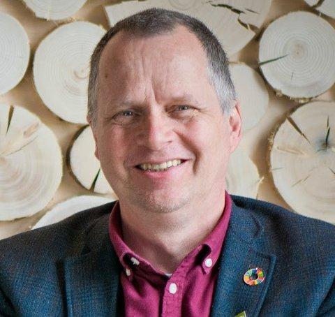 STORTINGSKANDIDAT: Jon Lurås, Innlandet MDG.