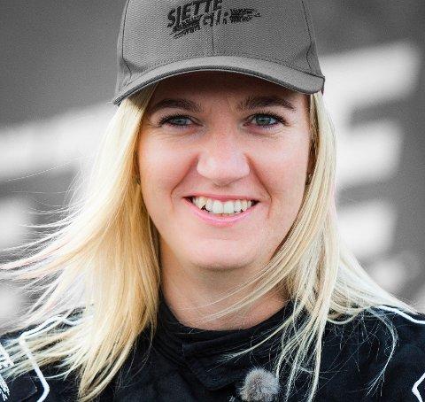 TIL FINALE: Liz Wessel er klar for finalekjøring i tv-konkurransen Sjette gir på NRK 1.