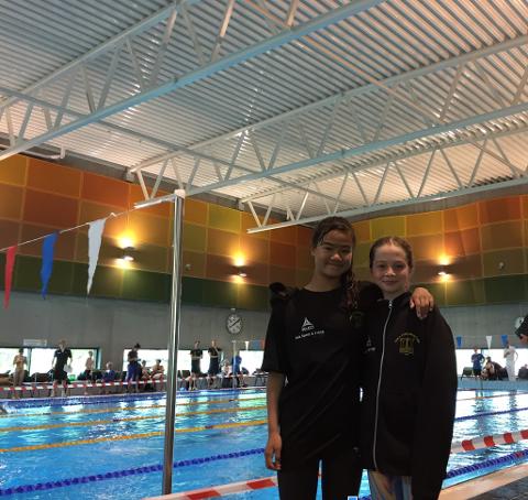 Sola-svømmerne deltok under Stavanger Open i helgen, og slo sine tidlige rekorder på flere distanser.