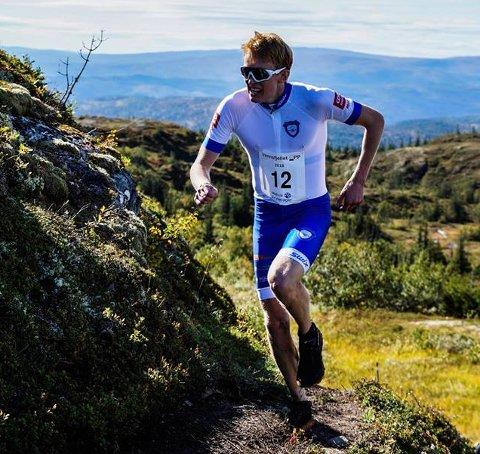 RASKEST: Eirik Mysen vant Venafjellet opp.