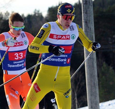 PRIORITERER ANNERLEDES: Herman Andreas Andersen har gått sitt siste renn på toppnivå. Løping og studier skal prioriteres i fortsettelsen.