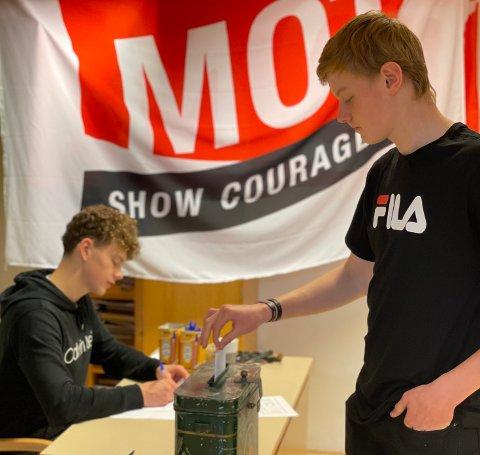 Tngvoll vgs: 81,8 prosent av elevene avga stemme.