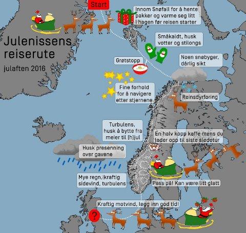 Meteorologenes julevær.