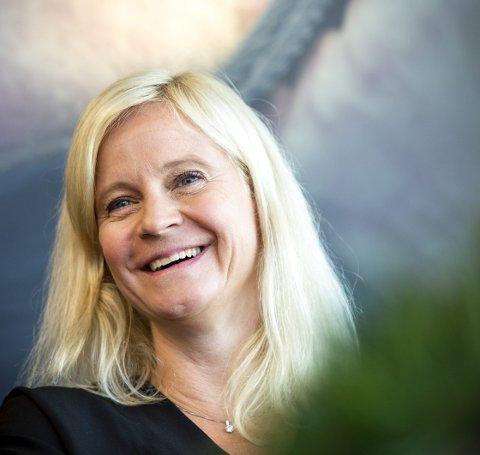 FERIE: Nyhetsredaktør Karianne Solbrække i TV 2 puster ut i Bergen etter et hektisk år. Ikke minst har hun ryddet opp etter at metoo-bølgen skyllet over kanalen. FOTO: ANDERS KJØLEN