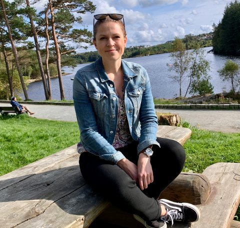 BYHEIENE: Varaordfører Trine Meling Stokland vil samle et utvalg haugesundere i en idégruppe, hvor målet er tips og forslag til hvordan stiene i Byheiene kan bli bedre.