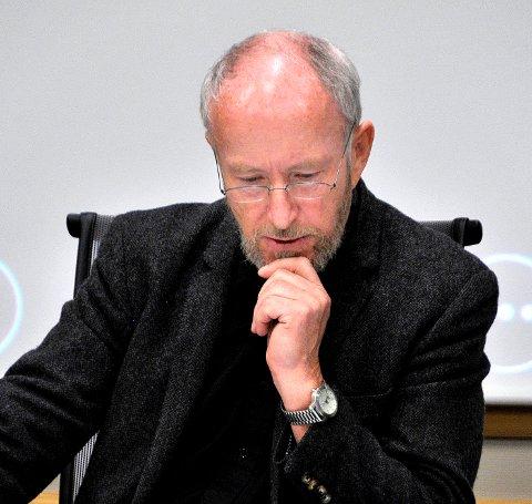 Inspiria i Fylkestinget, fylkesordfører Ole Haabeth