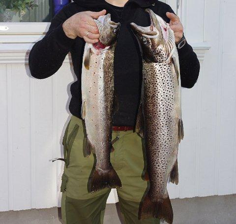 Kongefangst: Norsjø er et sted der man kan få mange arter og ikke minst store fisker.