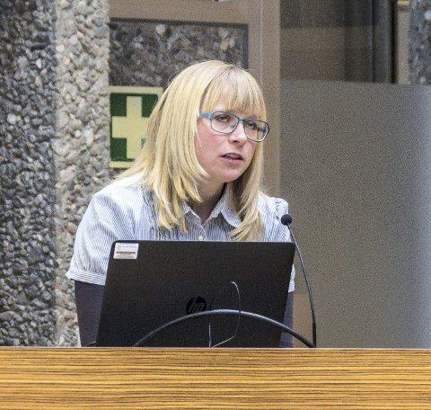 Maja Solli (V).
