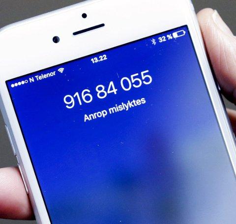 STILLE: Telenors mobilnett lå i går nede i flere timer. Feilen førte til at telenorkunder over hele landet hadde problemer med anrop og SMS på mobil. Foto: Erik Johansen/ NTB scanpix