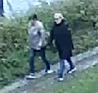 MULIGE VITNER: To kvinner som går sammen