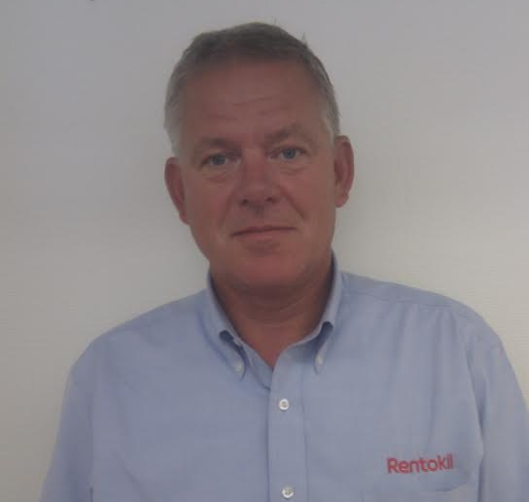 SKADEDYRBEKJEMPER: Arne Nese, teknisk sjef i Rentokil, har bred erfaring med å bekjempe rotter. Pressefoto