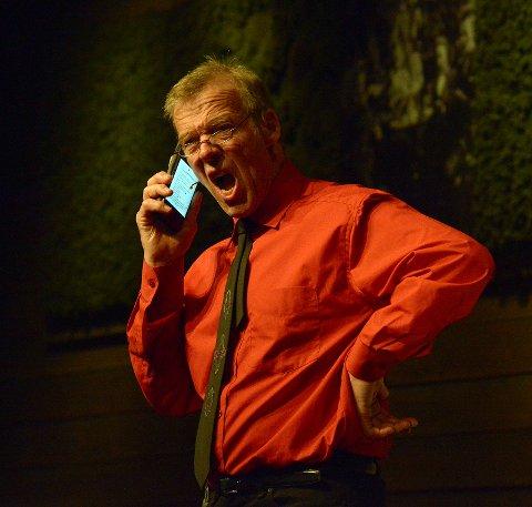 Pappa Arne Eggen i Smarttelefon.