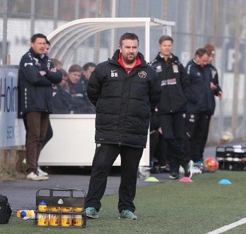 SNART SLUTT: Holmen-trener Bård Heggset gir seg etter årets sesong.