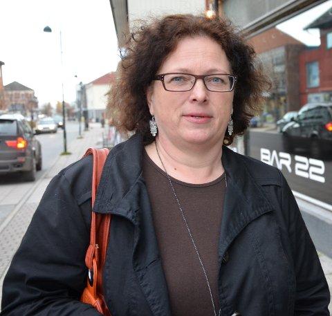 NÅDDE FRAM: Anita Skretteberg kan endelig dra på handletur til Sverige når hun besøker datteren i Fredrikstad.