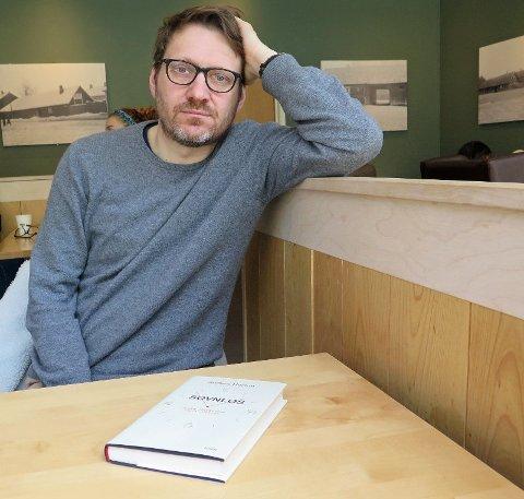 FORFATTER: Anders Bortne har skrevet boka «Søvnløs - tusen våkenetter og én løsning».