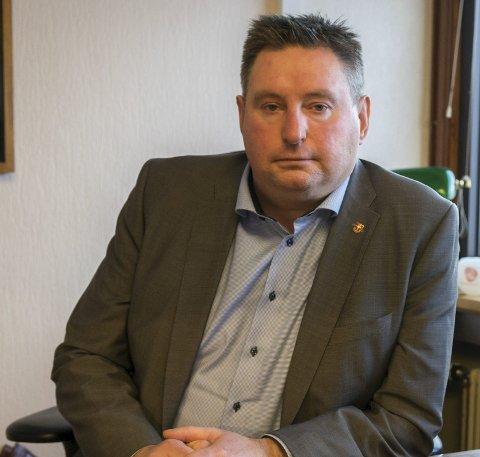EVENES BEST: Ordfører Rune Edvardsen (Ap) sier at for han er det åpenbart at det er rett å gå for en framtidig flybase i Evenes. Men han sier han lenge har vært forberedt på betydelig motstand.