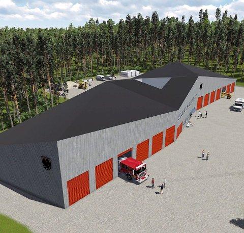 UTSATT: Ny brannstasjon på Sjøli ble utsatt i kommunestyret.