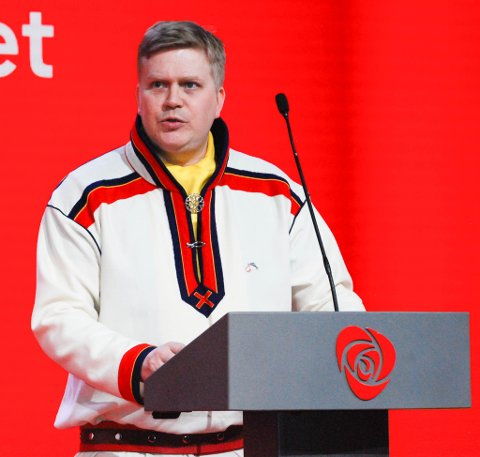 GÅR FOR PRESIDENTSTOLEN: Ronny Wilhelmsen i Arbeiderpartiet (Bargidbellodat) ble i dag valgt som sametingspresident-kandidat.