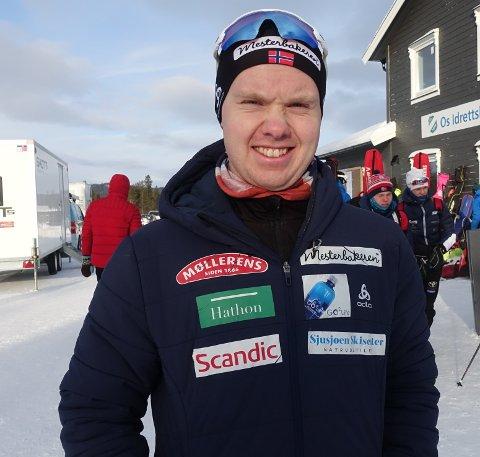 Martin Femsteinevik gjekk inn til ein knallsterk andreplass i laurdagens norgescuprenn i skiskyting.