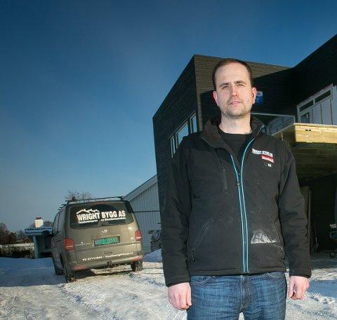 EIER: Daniel Peter Wrigt er eier av både tidligere Wright Bygg og Wright utvikling AS: