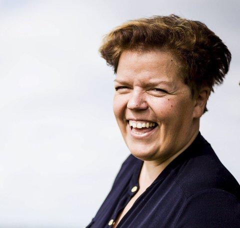 Henger seg på: Else Kåss Furuseth. Foto: Tom Gustavsen