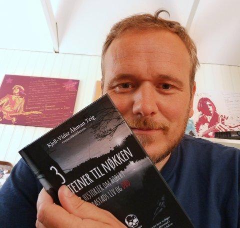 Kjell-Vidar Åhman Teig er ferdig med sin første bok.