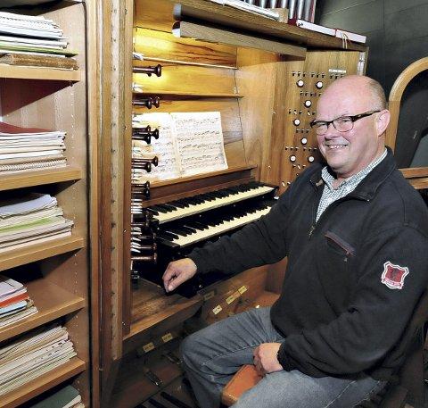 Kantor Johan Martin Røsand inviterer til orgelkonsert, førstkommende lørdag. (Arkivbilde).