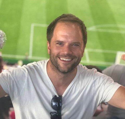 Utflyttet: Tore Gloppen er fra Fagernes, men nå bor og jobber han i Bergen.