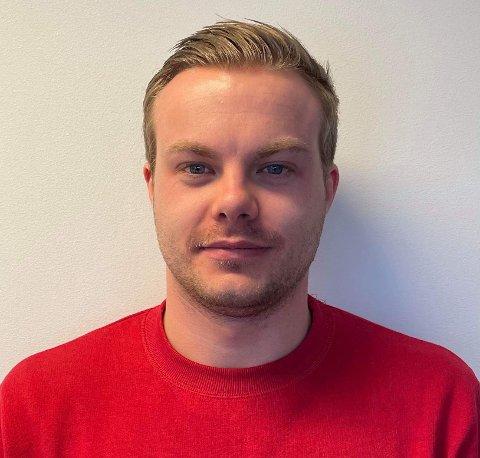 TOPPSCORAR: Joakim Sjøtun Måren stod med ein målgjevande pasning og fire scoringar i laurdagens kamp mot Bremanger. Med det har han åtte så langt denne sesongen.