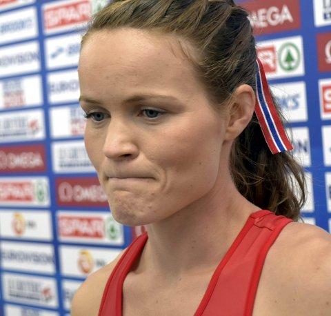 HAR PLAGDES: VM-kvalik henger i tynn tråd for den beste friidrettsutøveren fra Narviik, Yngvild Elvemo.