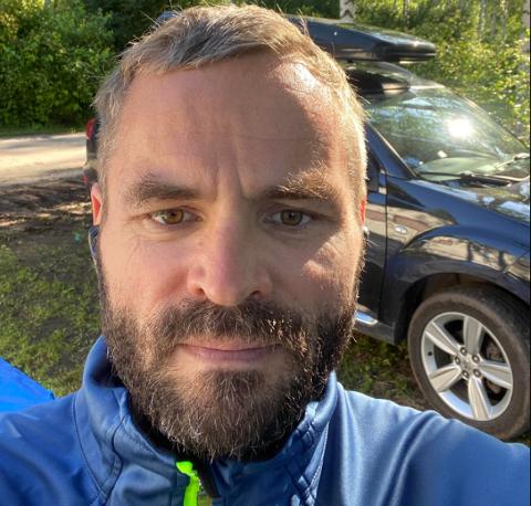 SØKER: Øystein Albrigtsen har søkt på stillingen som rektor ved Tanabru skole under begge utlysningene. Han jobber som adjunkt med tillegg i elektro ved Vadsø videregående skole.