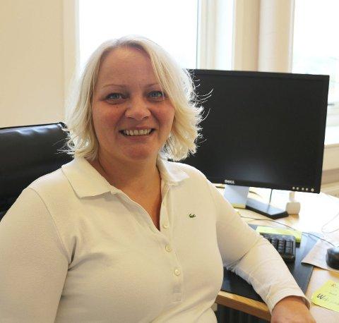 Fylkesråd: Mona Fagerås (SV) på sitt nye kontor i Bodø. Foto: Trond E. Willassen