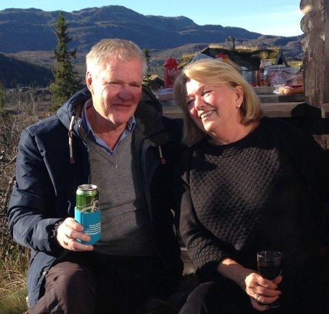 Anne Ma og Thro Nilsen feirer gullbryllup 24.08.2018