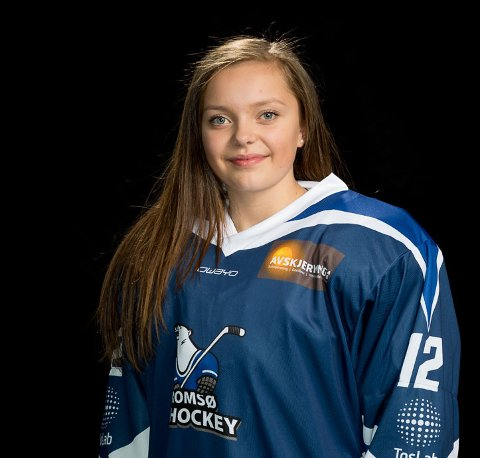 Julia Sundquist er den første spilleren fra Tromsø på en landslagsamling i ishockey.