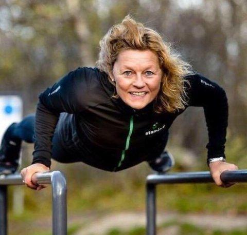 Hilde Anita Sandvoll, adm.dir i Stamina Trening.