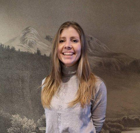 NY STABSSJEF: Solfrid Jordalen (32) tiltrer som ny stabs- og personalsjef i Vestre Slidre kommune 30. mars.