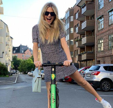 ZVIPPER SEG RUNDT: Elsparkesykkelen til Zvipp er med å prege bybildet i Oslo og Drammen. I løpet av 2020 kan Ski stå for tur.