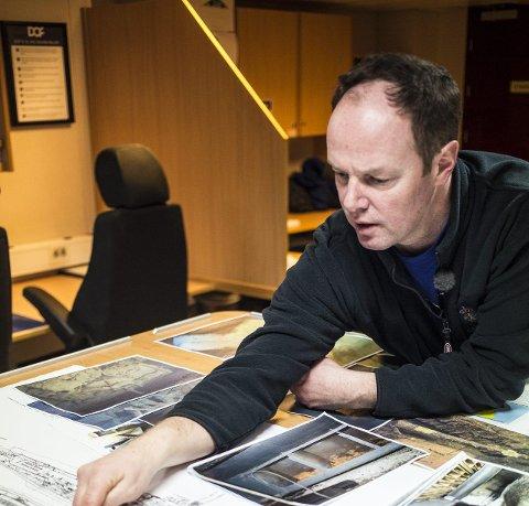 Prosjektleiar i Kystverket, Hans Petter Lahne Mortensholm.