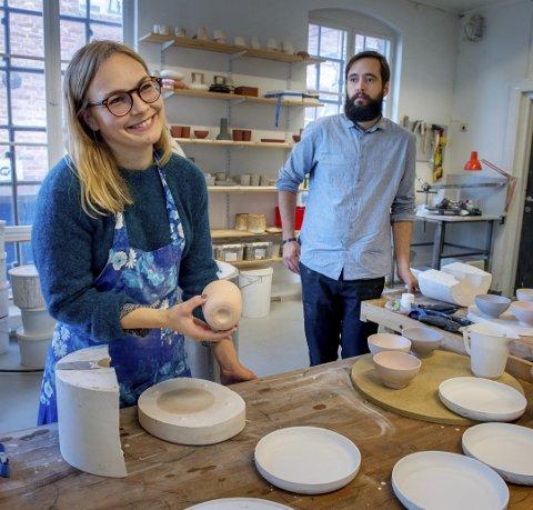 DUO: Kathrine Lønstad og Cosmin Cioroiu i Noidoi fra Kapp.