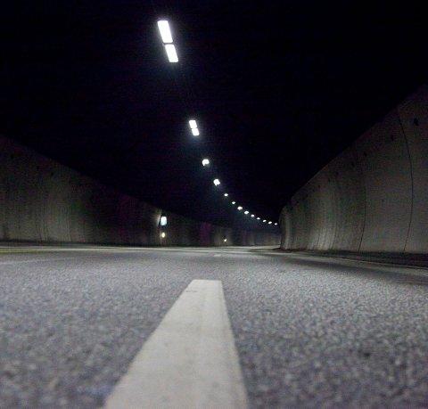 Bro og tunnel: Blir det bro eller tunnel, eller begge deler?illustrasjonsfoto