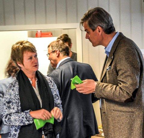 SAMARBEIDET PÅ TOPPEN: Gudrun Grindaker blir ikke den nære rådgiveren ordfører Bjørn Ole Gleditsch ønsker seg.