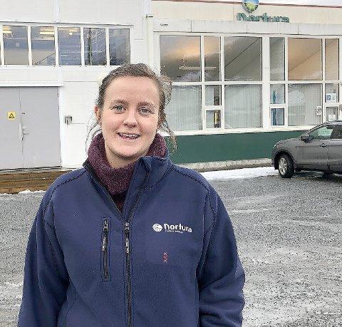 FARE FOR STREIK: Fabrikksjef Inghild Lysne Sanden, fekk torsdag varsel om at Nortura Sogndal blir tekne ut i streik frå onsdag morgon om ikkje det vert semje i meklinga.