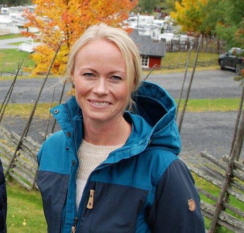 Spent: Kaja Funder Idstad er spent på hvordan trafikken blir til sommeren.