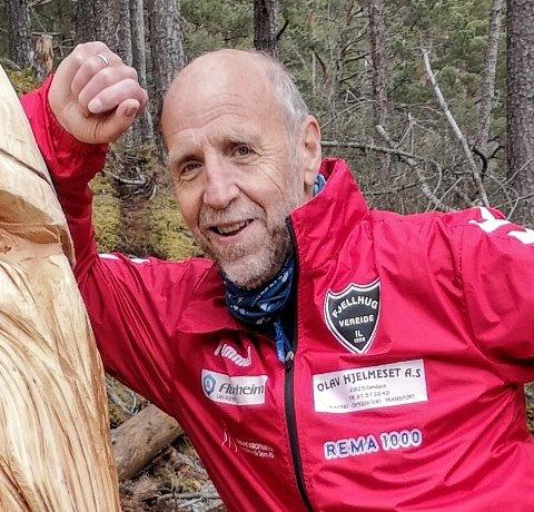 MANGE VIL SPRINGE: Deltakarane til Gloppen halvmaraton har nær firedobla seg på eit år. – Dette er veldig positivt, seier Dagfinn Nyhammer.