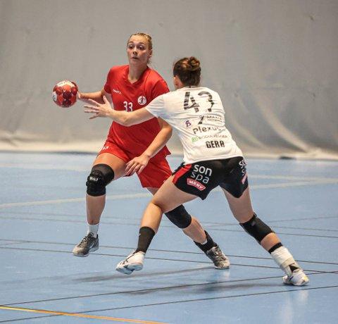 Runa Heimsjø Sand kom som toppscorer i 1 divisjon. Nå er målet å etablere seg på FBKs eliteserielag.