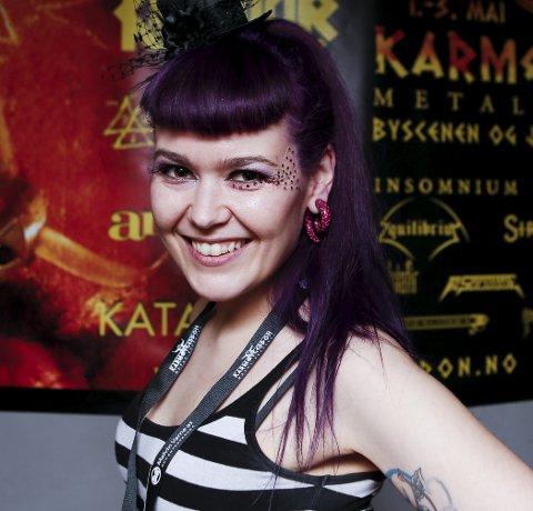 FEST: Kirsten Jørgensen er en ekte karmøygeddon.